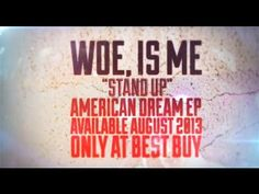 ▶ Woe, Is Me - Stand Up (New CDep exclusive to BEST BUY on AUG. 20th) - YouTube