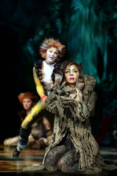 To celebrate National Cats day in the USA heere is a picture of Nicole Scherzinger as Grizabella the Glamour Cat in Cats at the London Palladium this winter.