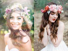 """Résultat de recherche d'images pour """"accessoires cheveux couronne de fleurs"""""""