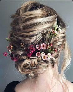 Pretty Hairstyles, Wedding Hairstyles, Boho Chic, Dream Wedding, Wedding Day, Blonde Beauty, Bridal Hair, Makeup Looks, Hair Cuts