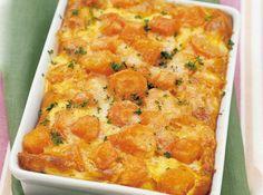 Gratin de carottes léger,un bon gratin très léger, et facile à faire qui accompagnera à merveille un plat de viande ou de poisson.