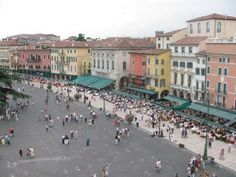 Verona Sq from top of The Arena
