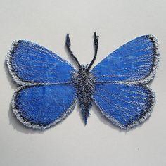 Beautiful fabric butterfly ...