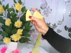 Vídeo 8 - Flores de Papel Crepom - Novidade!!!!!