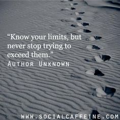 This quote happens to be one of my new year's resolutions! What is one of yours? #SocialCaffeine