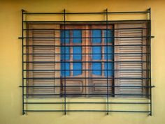 Framed Window. Inside a Picture Frame.