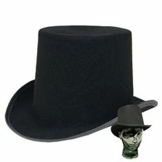 $3.90, Fun for the guys to take pics with. Black Felt Top Hats from Windy City Novelties