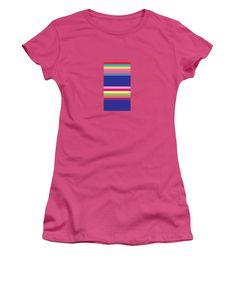 Geometry Women's T-Shirt (Junior Cut) featuring the digital art Geometric Art 417 by Bill Owen