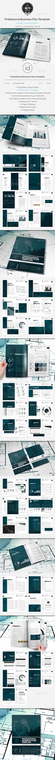 Professional Digital Business Plan Template  Business Planning