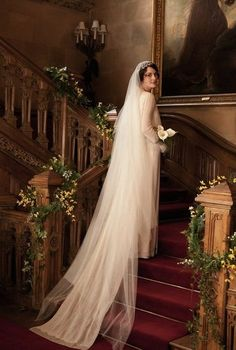 Matthew and Mary's wedding album #DowntonAbbey