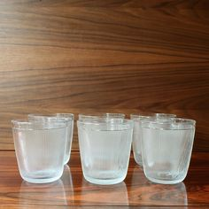 A set of six goblets. * Designer: Willy Johansson * Series: Siri * Producer: Hadeland * Country: Norway * Year: 1954 * Size: H. 8cm, Ø. 7cm * Quantity: 6 * Object no: 117 Sold