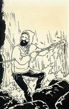 Hergé - Georges Prosper Remi (1907 – 1983). Le capitaine Haddock. [Pinned 19-vi-2015]