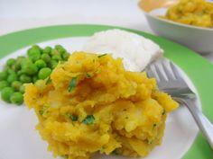 Kürbis-Kartoffelpüree - eine sehr leckere Beilage zu Faschierten Laibchen, Gemüse- oder Getreidelaibchen, Fisch oder anderem. http://www.babyspeck.at/kuerbis-kartoffelpueree/