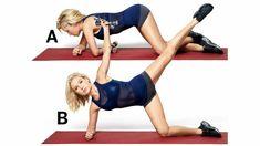 The Full-Body Fat Blast Workout - Health Pilates Reformer Exercises, Pilates Workout, Body Workouts, Pop Pilates, Daily Workouts, Pilates Yoga, Boxing Workout, Tracy Anderson Workout, Tracy Anderson Diet