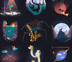 "Check out this @Behance project: ""36 Days of Type // from A to Z"" https://www.behance.net/gallery/37524227/36-Days-of-Type-from-A-to-Z"