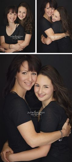 Mother and daughter by Julie Gagnon Photographer in Québec City, Canada