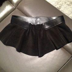 Cinturón peplum piel - Chicfy