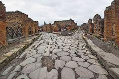 Parlando d'Italia: Pompeia, as ruinas do vulcão Vesuvio