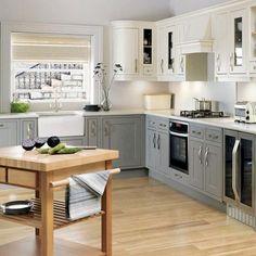 Gray Kitchen Walls Brown Cabinets kitchens - gray kitchen cabinets white subway tiles backsplash