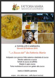 """""""...e Zucca sia!"""" #fattoriamaria #atavolaincompagnia #zucca #tradizione #emiliana #soliera #food #goodfood"""