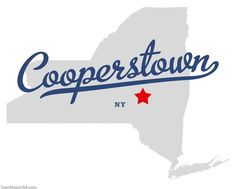 cooperstown | Map of Cooperstown New York NY