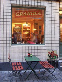 "Granola Café | Copenhagen .................... #GlobeTripper® | https://www.globe-tripper.com | ""Home-made Hospitality"" | http://globe-tripper.tumblr.com/"