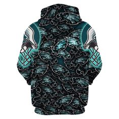 Check out all our Philadelphia Eagles merchandise! Philadelphia Eagles Apparel, Philadelphia Eagles Merchandise, Skull Hoodie, Fan Gear, Sport Outfits, Cool Shirts, Bomber Jacket, Sports Apparel, Hoodies