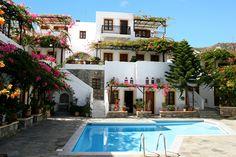 Appartementen Villa Dyktina op Kreta bevat alle ingrediënten om helemaal tot rust te komen.