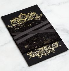 All of your wedding details should express your personality, send a wedding invitation that announces your wedding style. Check out these edgy and striking wedding invitations from BLISS & BONE, tell us what do you think? Black Wedding Invitations, Wedding Invitation Design, Wedding Stationery, Mod Wedding, Wedding Cards, Dream Wedding, Royal Invitation, Invitation Ideas, Invites