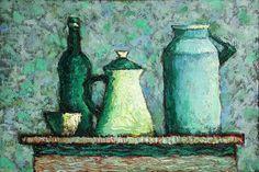 The still life with a can, Ansar Galin