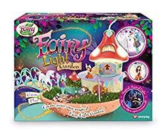 With this stunning Fairy Light Garden playset from the My Fairy Garden range children enter the wonderful world of magic as they create a gorgeous… Playmobil Fairies, Secret House, Outdoor Garden Lighting, Fairy Figurines, Baby Unicorn, Candle Magic, Fairy Garden Houses, Beautiful Fairies, Garden Items