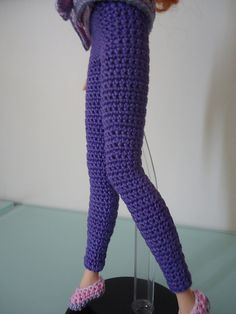 Ravelry: Barbie Basic Leggings free crochet pattern by Dez Alyxander