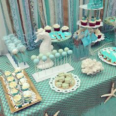 Under the Sea Birthday Party Ideas | Photo 7 of 21 | Catch My Party