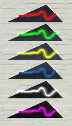 80's Neon Wall Art by SciFi-Designer