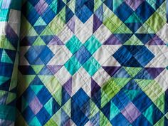 Show off a range of colors and prints with the Lizzie's Scrap Bag Quilt Kit! You'll receive a pattern, an acrylic template for cutting precise pieces and charming fabric from Paula Barnes' Companion collection to sew this sweet, 46' x 50' design. Featuring simple-to-sew blocks and a versatile color palette, this quilt top will look right at home with any decor.