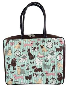 Doggy Boudoir Laptop Bag by Fluff. $32.60. Hot Collection Products. Why We Like the Doggy Boudoir Laptop BagSturdy handles that are comfortable too.Adorable fluff heart charm zipper pull. All the security and protection your laptop needs Fun and practical. DOGGY BOUDOIR LAPTOP BAG Designed with the feminine dog lover in mind, this laptop tote provides a stylish way to secure and carry your laptop with you wherever you go. Cute canines adorn the faux leather exterio...
