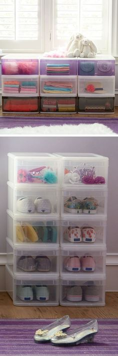 You're going to love these Tint Stacking Drawers. They're ideal for kid's rooms and dorms or apartments. Simply stack to create instant drawer space for clothing, toys or accessories.