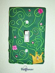 How to make a polymer clay switch plate cover