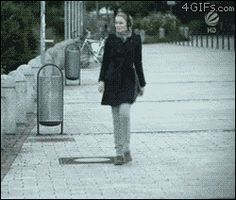 """""""funny girl"""" via Google+ (original source: 4gifs.com) One of my favourite gifs of all time. Always giggle when I see it. xD"""