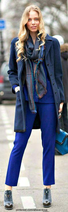 Street style - Tanya Dziahileva
