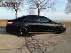 Wheel Offset 2007 Toyota Camry Flush Dropped 1 3 Custom Rims