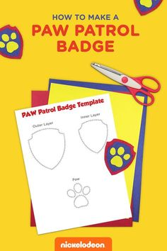 If your preschooler is obsessed with PAW Patrol and all that the PAW Patrol badge stands for, make them a PAWsome badge of their very own! Print, color, cut, and create a PAWsome badge of honor out of these printable PAW Patrol badge templates.