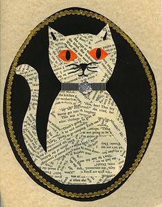cat portraits...halloween perhaps?