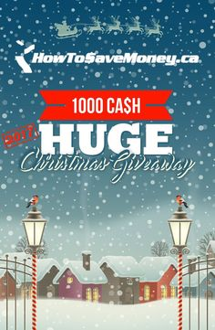 We're giving away $1,000 of our own money for Christmas 2017! Entering is free and easy so come join the fun.