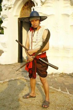 Great Sword, Muay Thai, Arsenal, Hipster, Culture, Traditional, Fashion, Weapons Guns, Costume Ideas