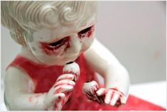 Gore sculptures by Maria Rubinke, an amazing artist currently based out of Copenhagen, Denmark. Gore sculptures by Maria Rubinke, an amazing artist currently based out of Copenhagen, Denmar Untitled Film Stills, Sculpture Art, Sculptures, Flipper, Creepy Images, Native American Dolls, Gothic Dolls, Arte Horror, Weird Art
