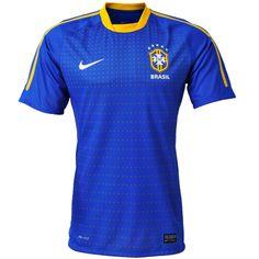 Camisa Nike Seleção Brasil Away Authentic 2010
