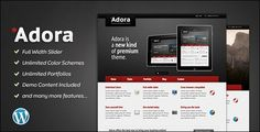 Adora – Premium Business & Portfolio Theme
