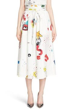 ec4a47e4b852 MARC JACOBS Wrap Midi Skirt available at  Nordstrom A Line Skirts