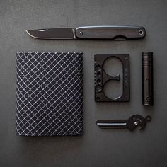 Today's all-black all business carry. Who else is feeling the darkness? #UrbanEDCSupply